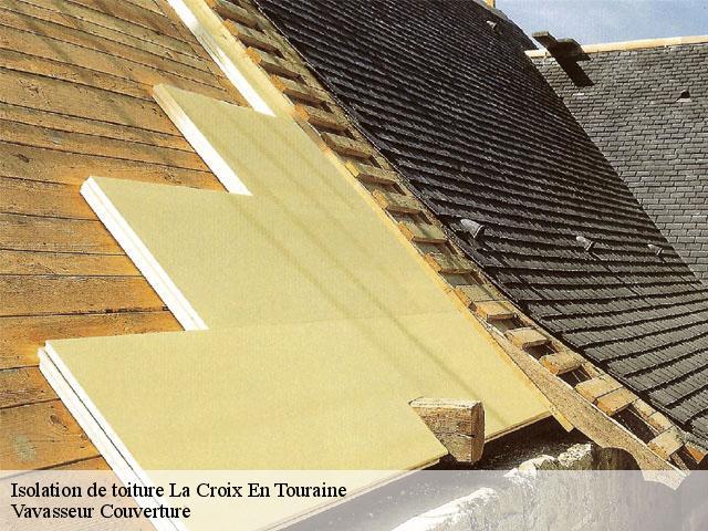 Isolation de toiture à La Croix En Touraine tél: 02.52.56.28.62